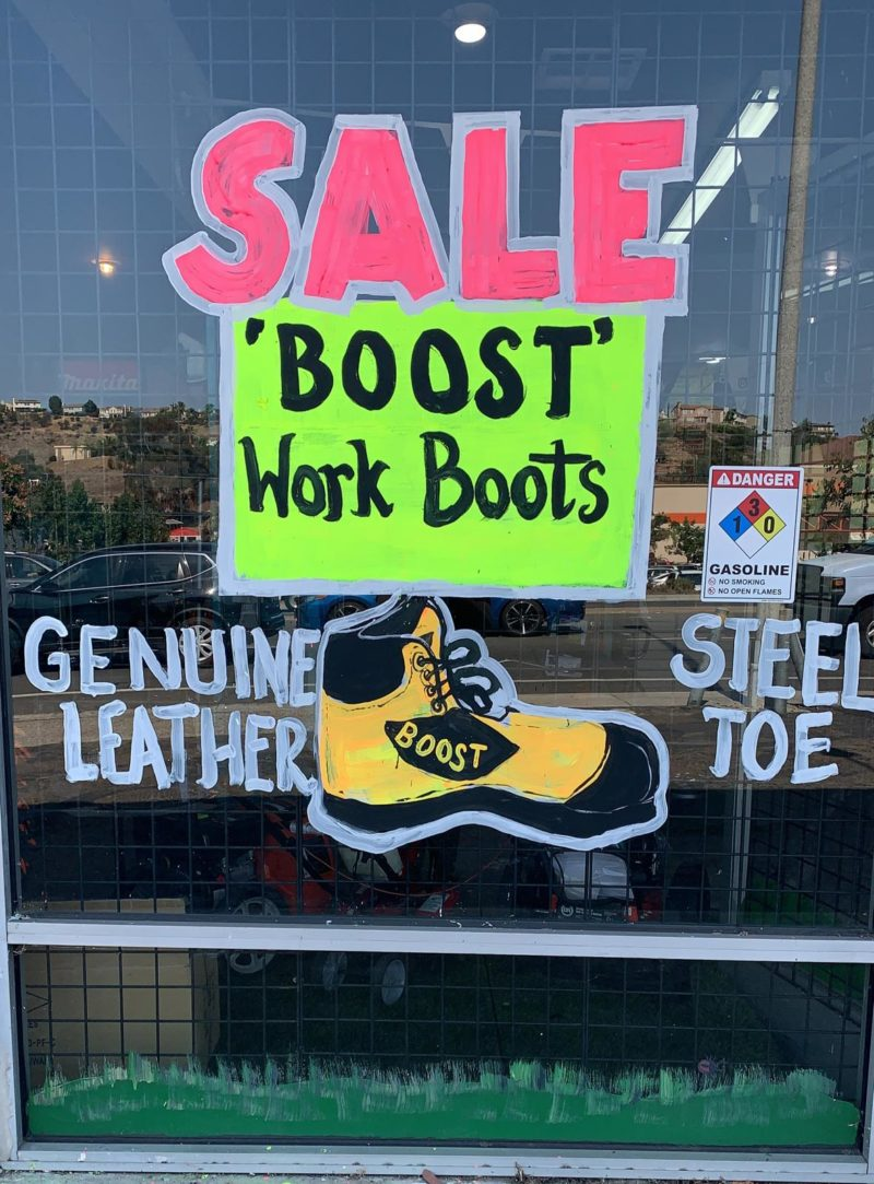 Spring Valley Lawnmower Shop. Boot Sale.